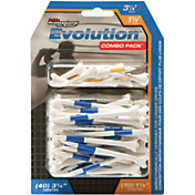 "Pride Sports 1.5"" & 3.25"" Evolution Golf Tee Combo - 50 Pack"