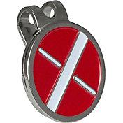 Maxfli Metal Ball Marker and Hat Clip Set