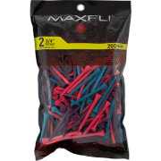 Maxfli 2.75'' Mixed Berry Golf Tees – 200-Pack