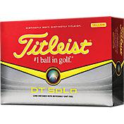 Titleist DT SoLo Yellow Golf Balls