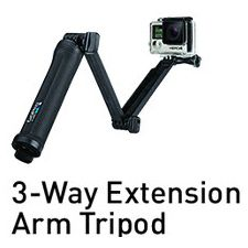 3-Way Extension Arm Tripod