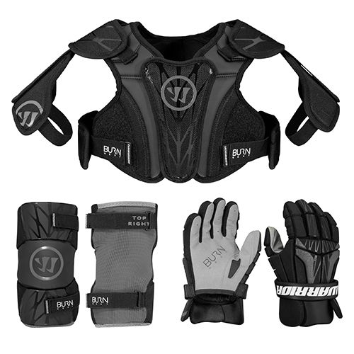 Warrior Burn Next 3-Piece Lacrosse Package