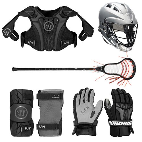 Warrior Burn Next 5-Piece Lacrosse Package