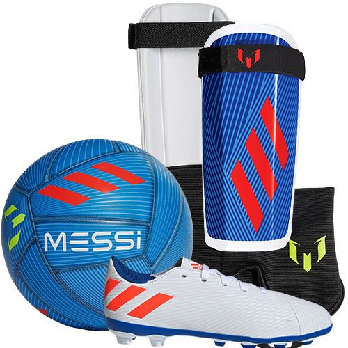 adidas Youth Messi Soccer Package