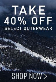 Take 40% Off Select Outerwear - Shop Now