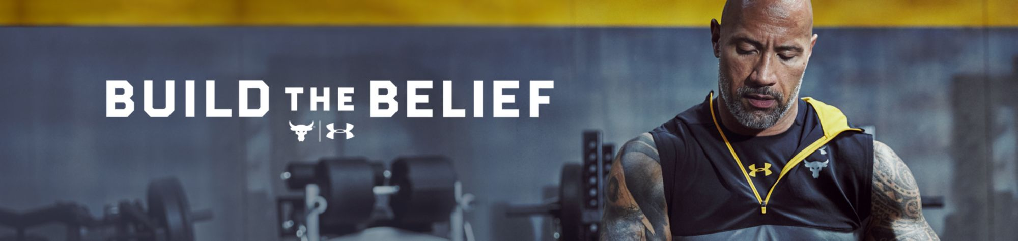 Under Armour Project Rock Apparel - Build The Belief