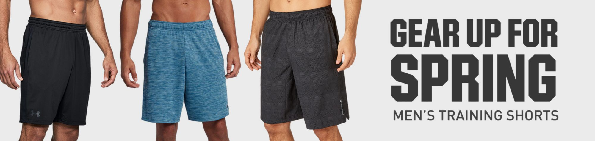 Gear Up for Spring Men's Training Shorts