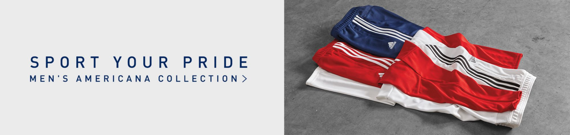 Sport Your Pride Men's Americana Collection