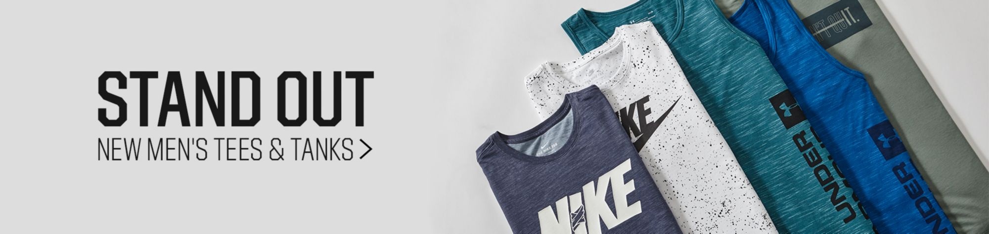 Stand Out New Men's Tees & Tanks