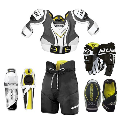 auer Youth Supreme S170 Hockey Package
