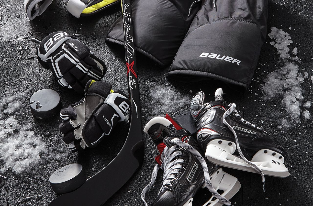 Bauer Hockey Skates & Equipment