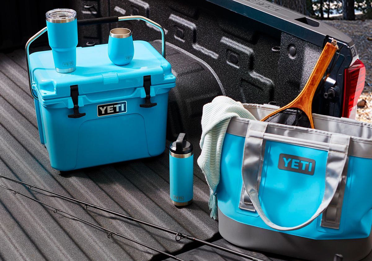 New Reef Blue Coolers & Ramblers