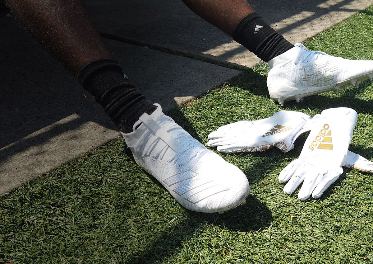 Take The Field In White