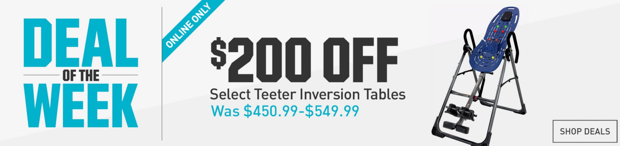 Shop  Teeter Inversion Tables