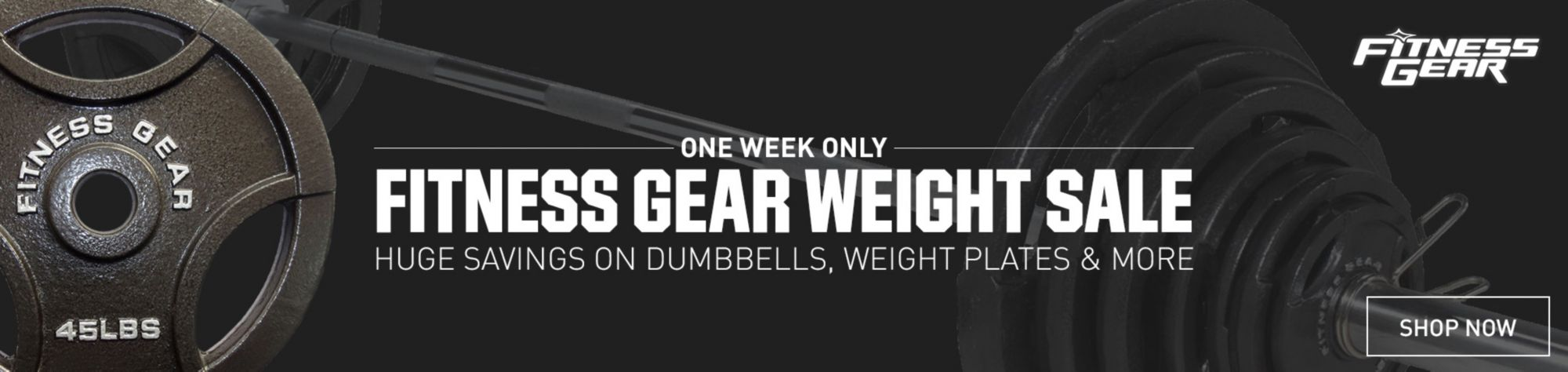 Fitness Gear Weight Sale