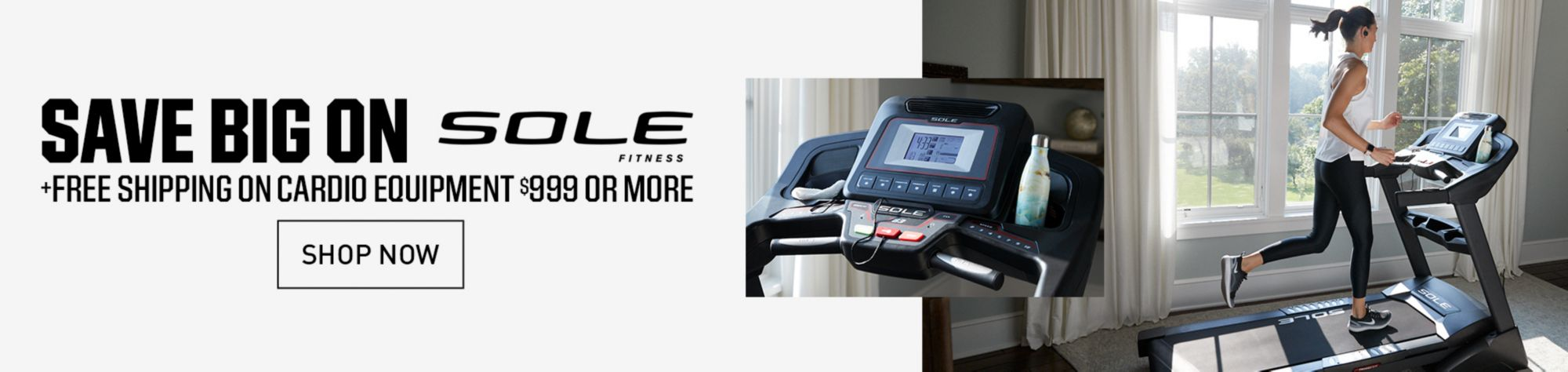 Save on Sole Cardio Equipment