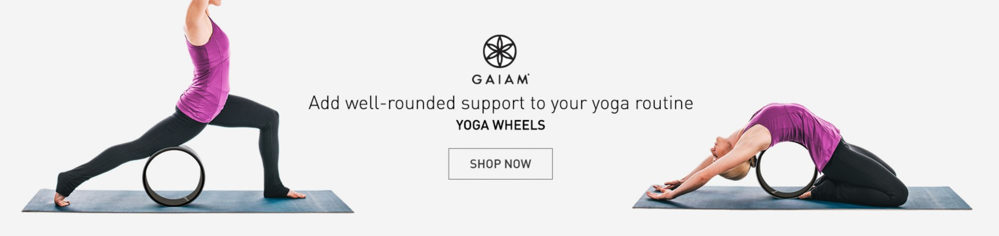 Gaiam Yoga Wheels Shop Now