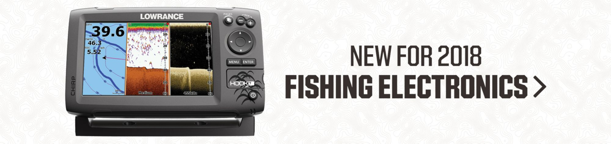 NEW FOR 2018 FISHING ELECTRONICS