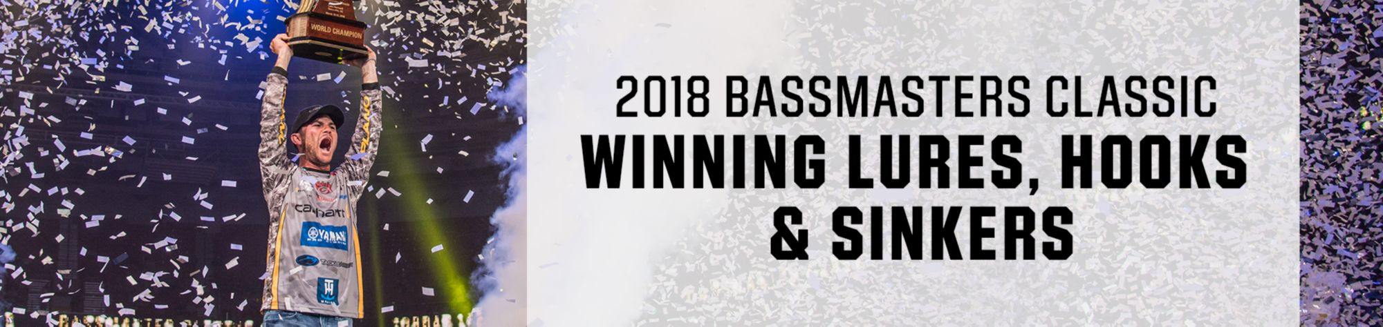 2018 Bassmasters Classic Winning Lures, Hooks & Sinkers