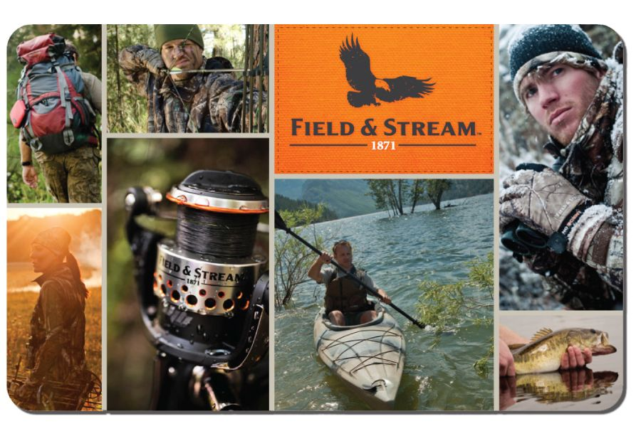 picture about Field and Stream Coupons Printable identify Present Playing cards - Hire On the web or Within-Keep Industry Circulation