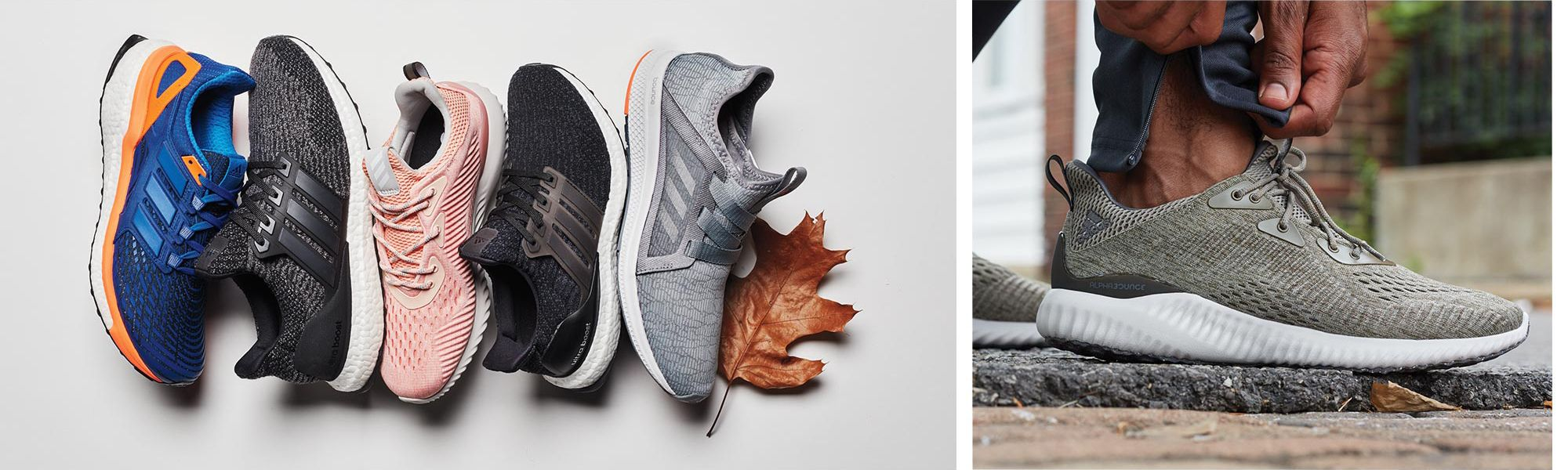 Shop adidas Boost and Nike Running