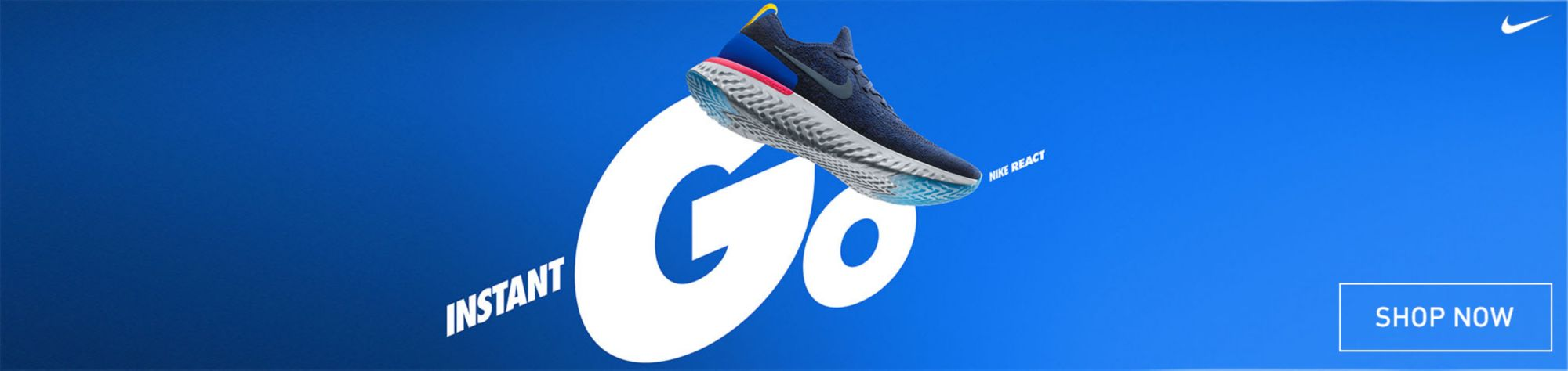 Nike Epic React Blue - Shop Now