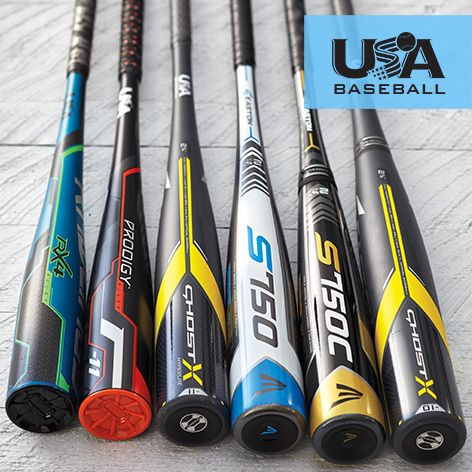 New USA Standard baseball bats - shop now