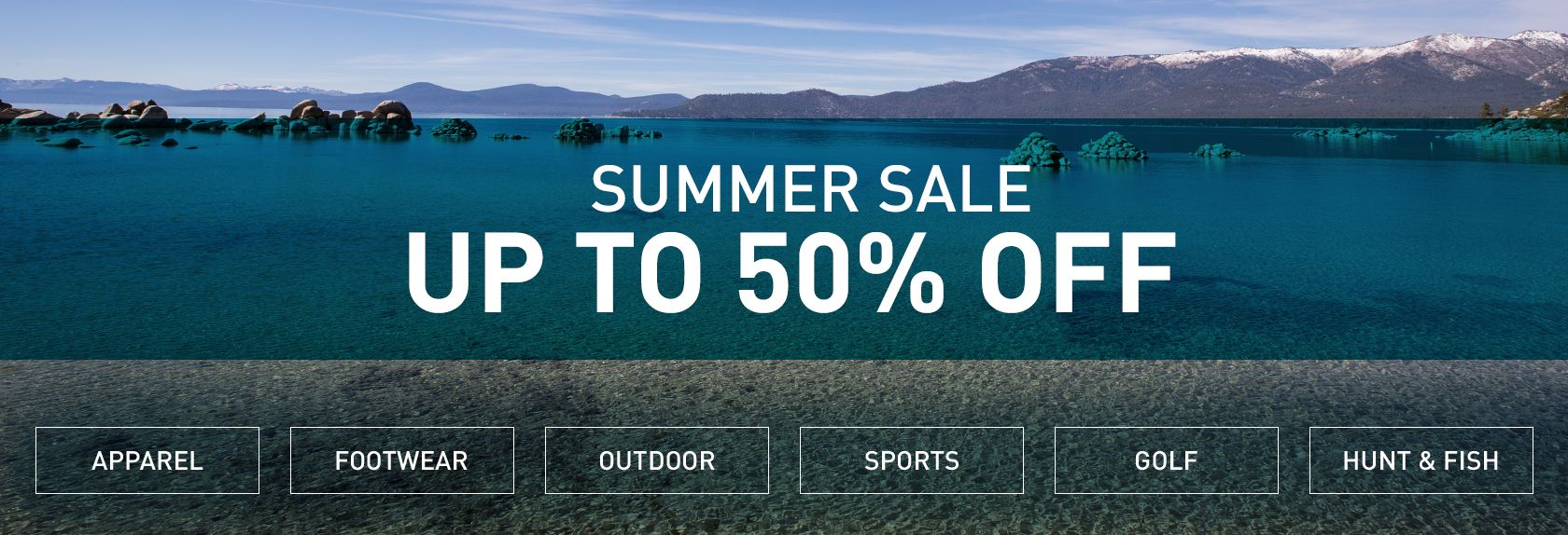 Shop Summer Sale - Up To 50% Off