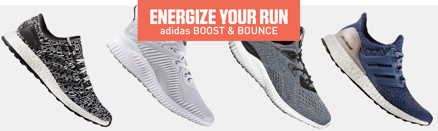 Shop adidas Boost Bounce Footwear