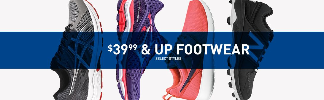 Shop $29.99 And Up Footwear