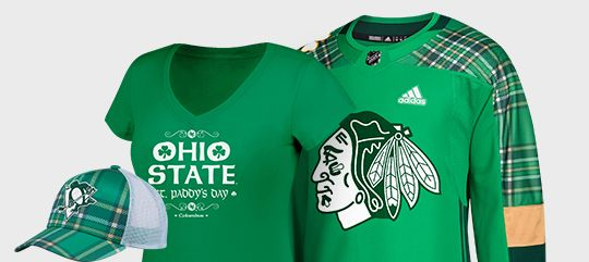Get Ready For St. Patrick's Day - Shop Green Gear Now