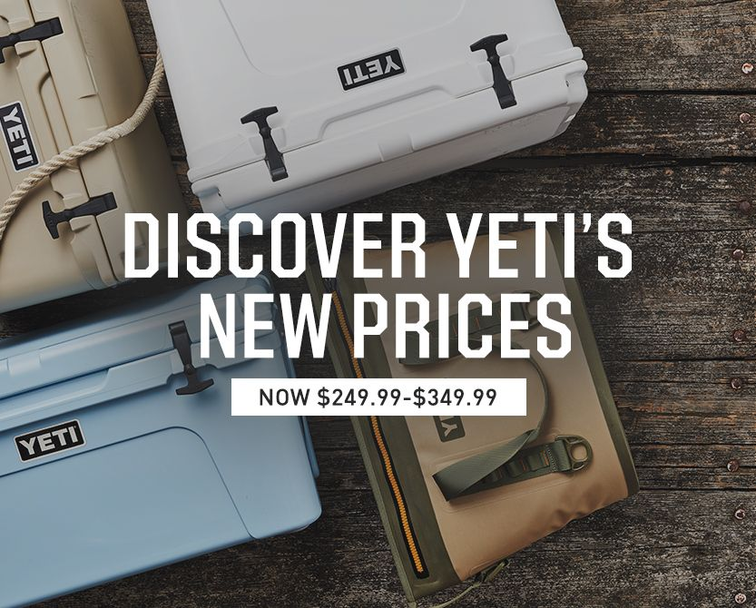 Discover YETI'S New Prices - Shop Now