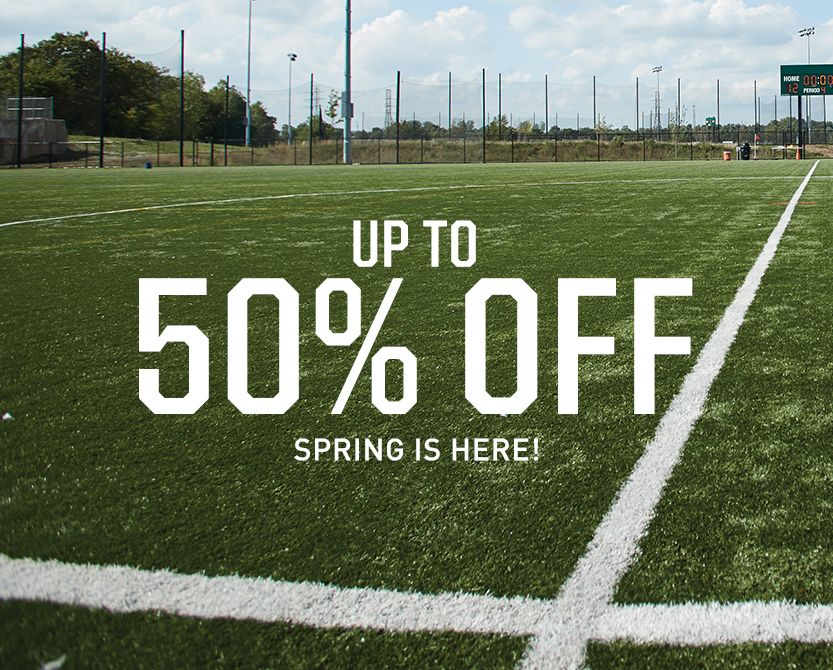 Spring Sale - Up to 50% Off
