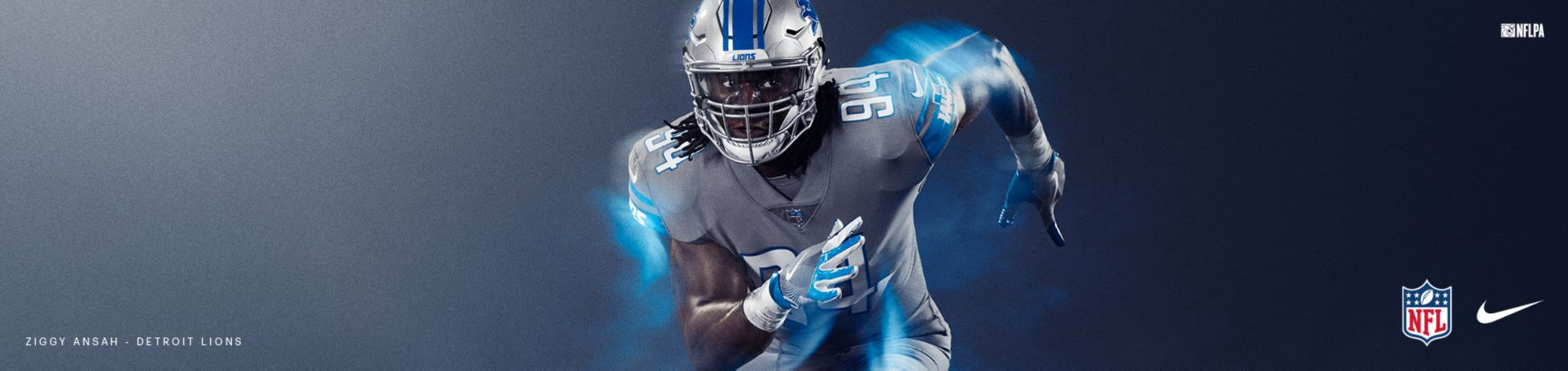 Color Rush Jerseys - Lions