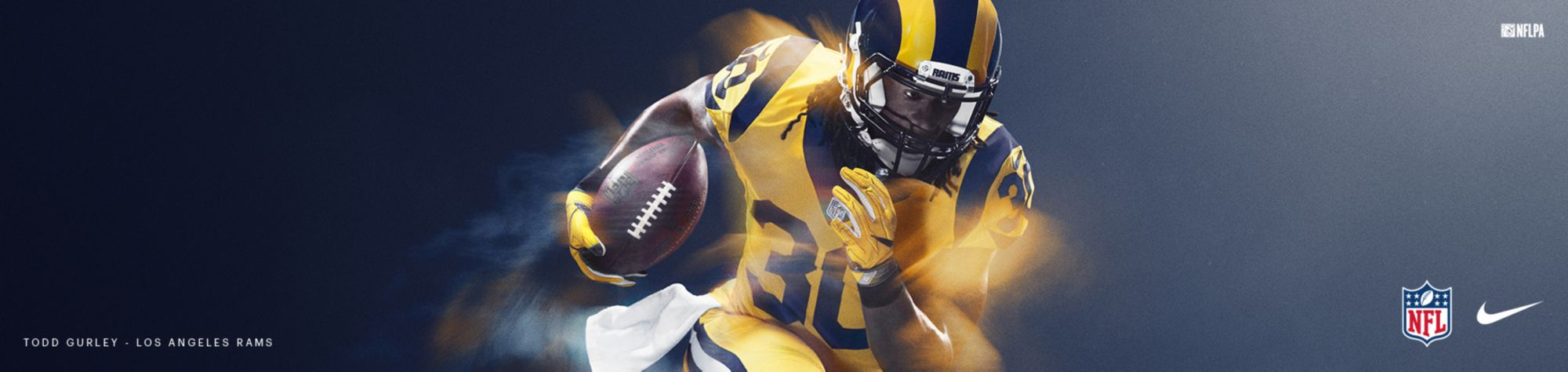 Color Rush Jerseys - Rams