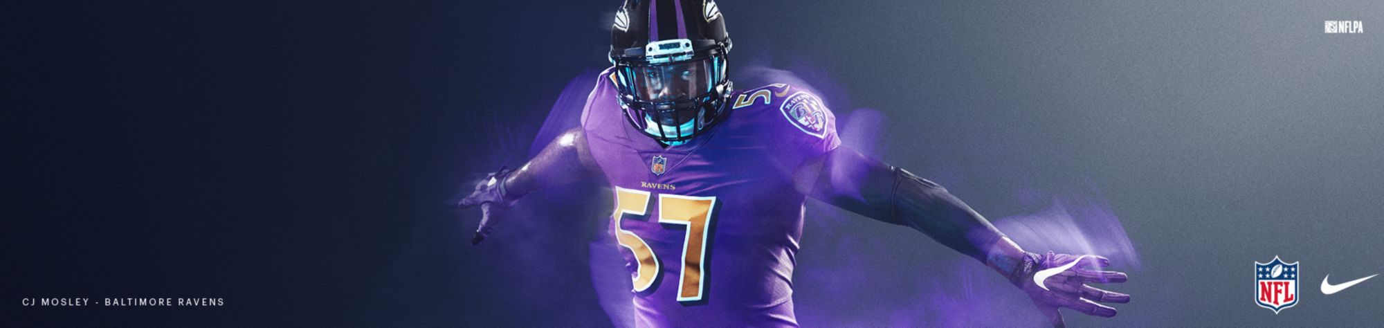Color Rush Jerseys - Ravens
