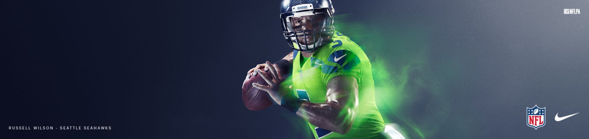 Color Rush Jerseys - Seahawks