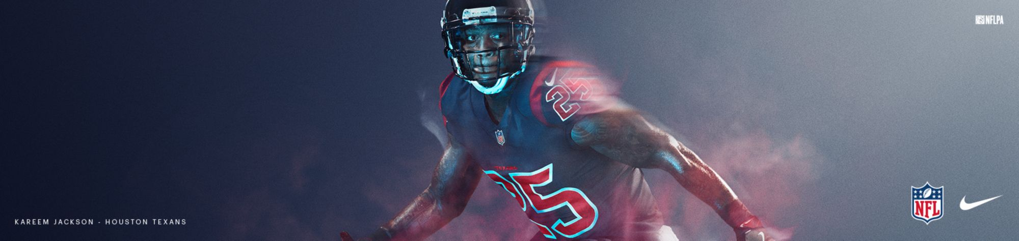 Color Rush Jerseys - Texans