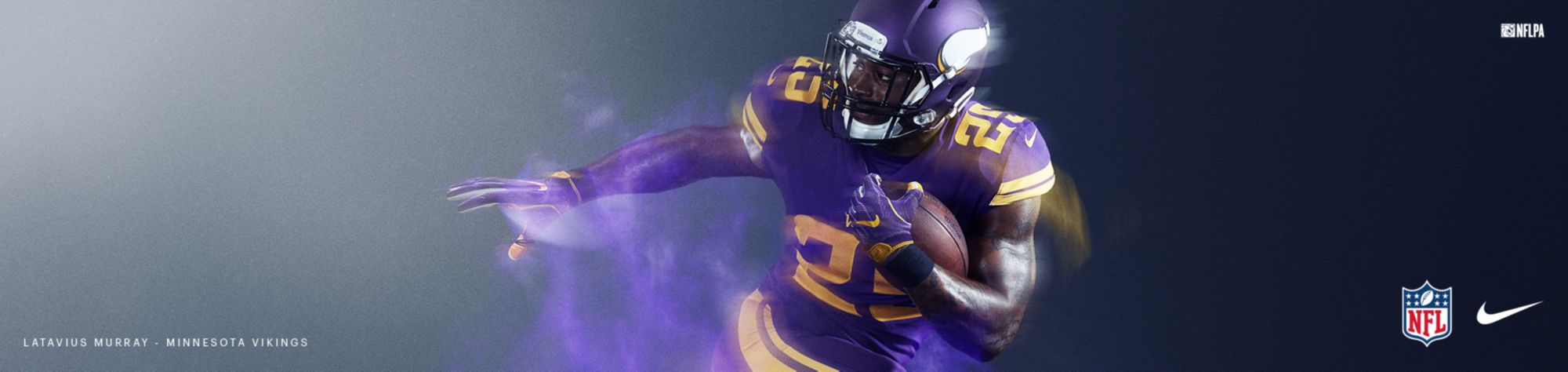 Color Rush Jerseys - Vikings
