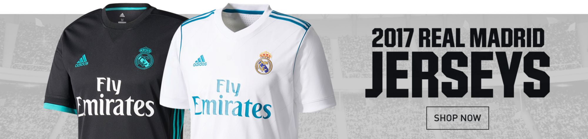 New Real Madrid Jerseys