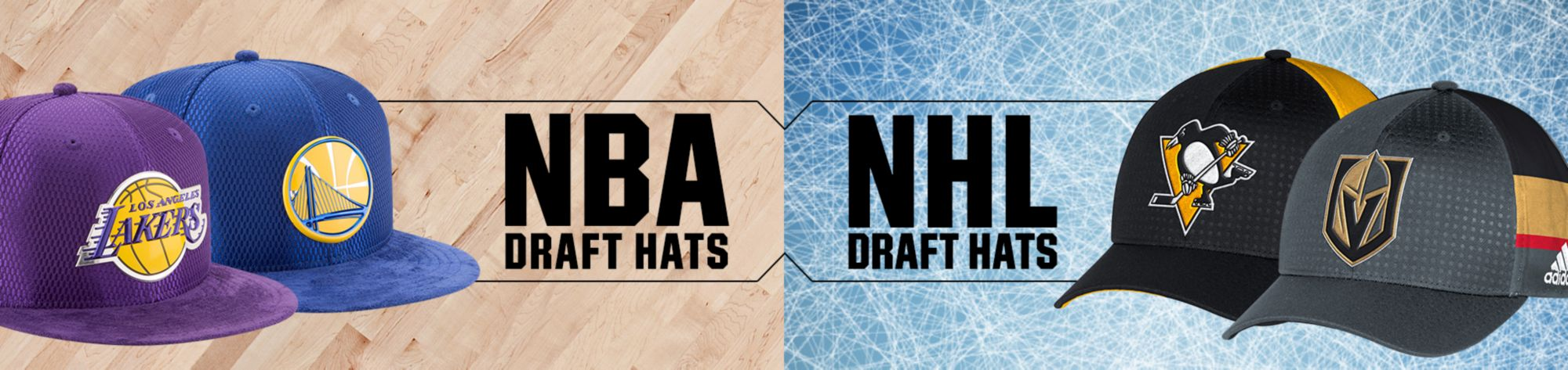 Shop NBA & NHL Draft Hats