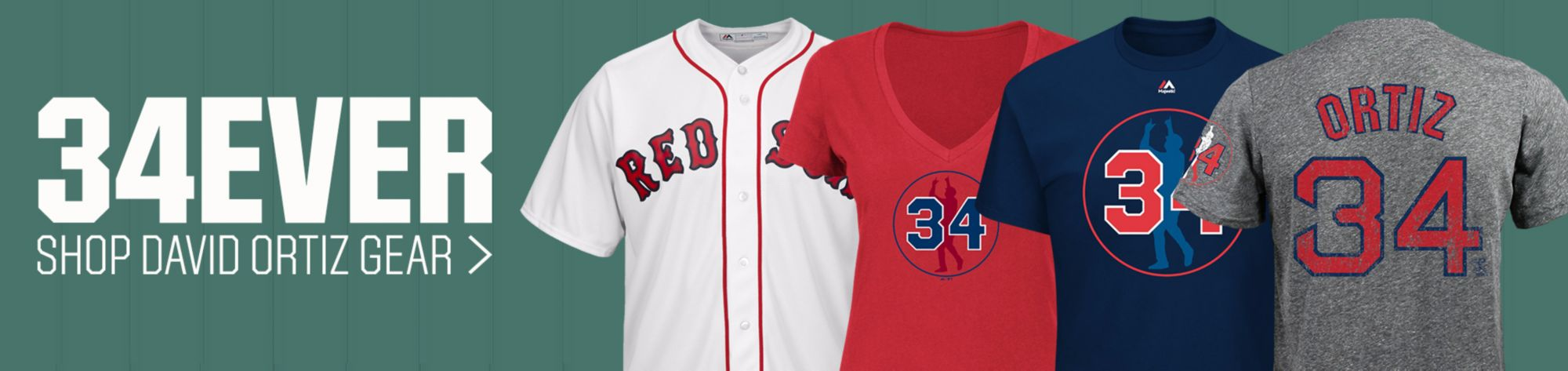 Shop David Ortiz Gear