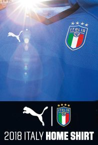 Italy Home Jersey Launch