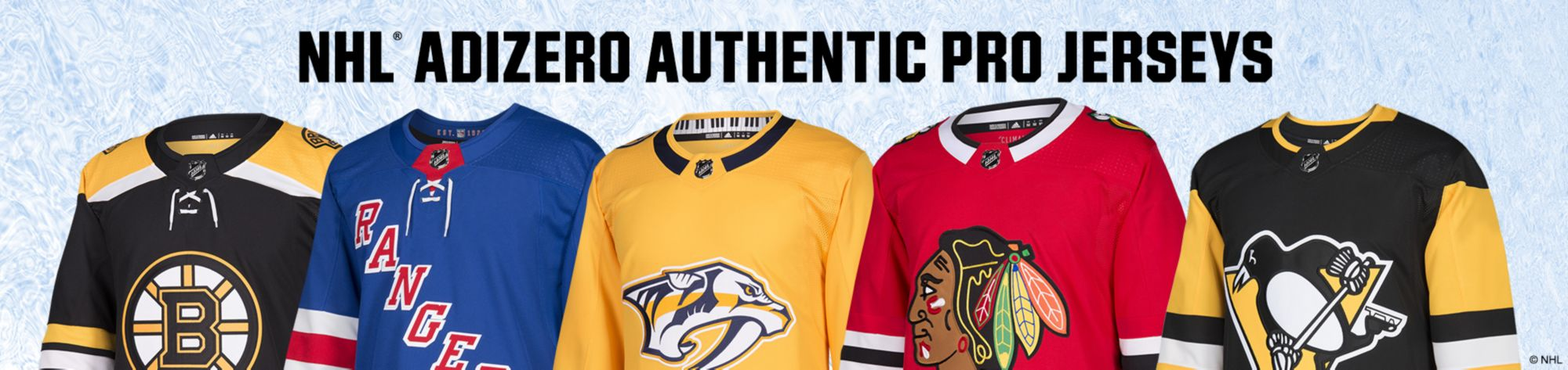 NHL adidas adizero Authentic Pro Jerseys