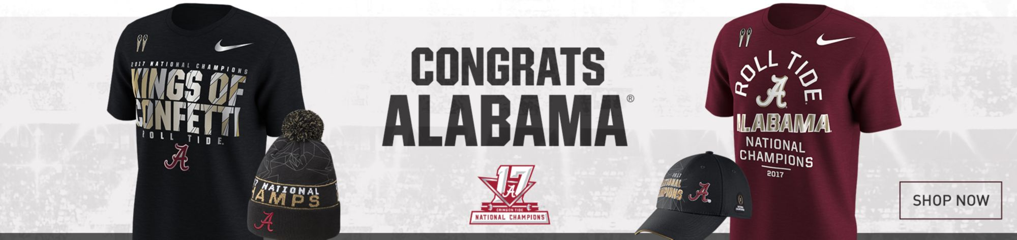 Congrats Alabama - National Champions - Shop Now