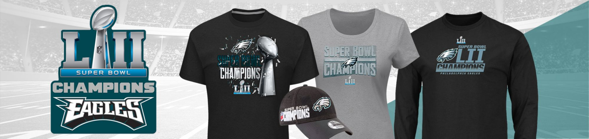 Congrats Philadelphia - Superbowl LII Champions - Shop Now