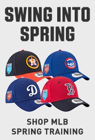 MLB Spring Training Apparel and Gear