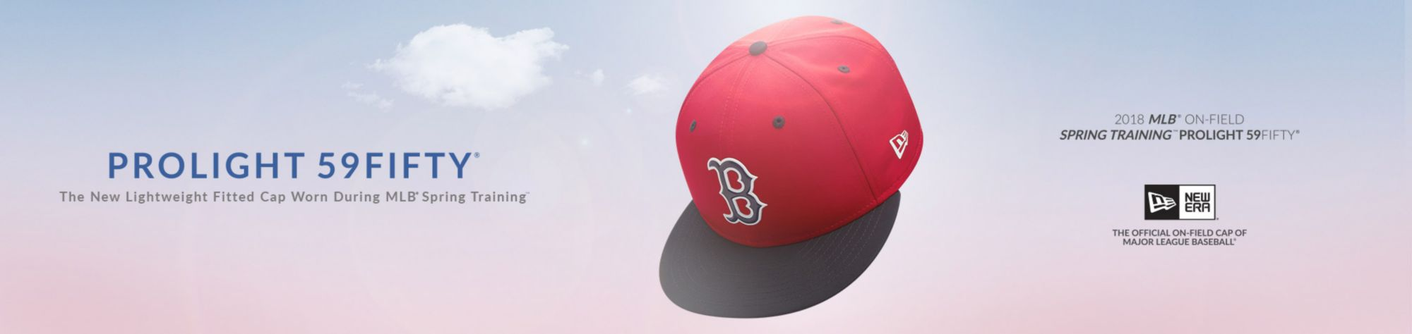 PROLIGHT 59FIFTY - The new lightweight fitted cap worn during MLB spring training - Boston Red Sox - Shop Now