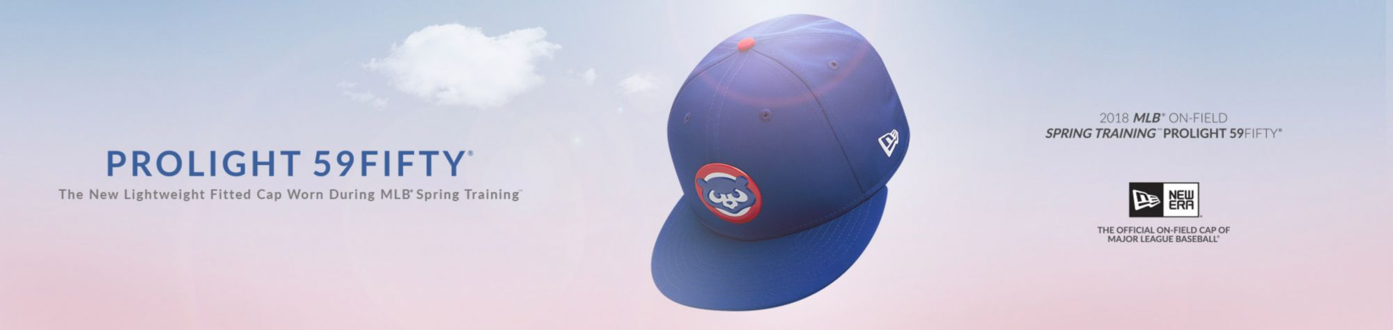PROLIGHT 59FIFTY - The new lightweight fitted cap worn during MLB spring training - Chicago Cubs - Shop Now