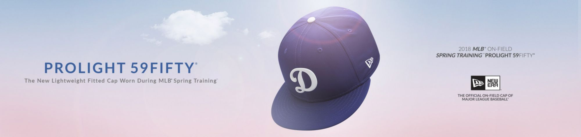 PROLIGHT 59FIFTY - The new lightweight fitted cap worn during MLB spring training - Los Angeles Dodgers - Shop Now